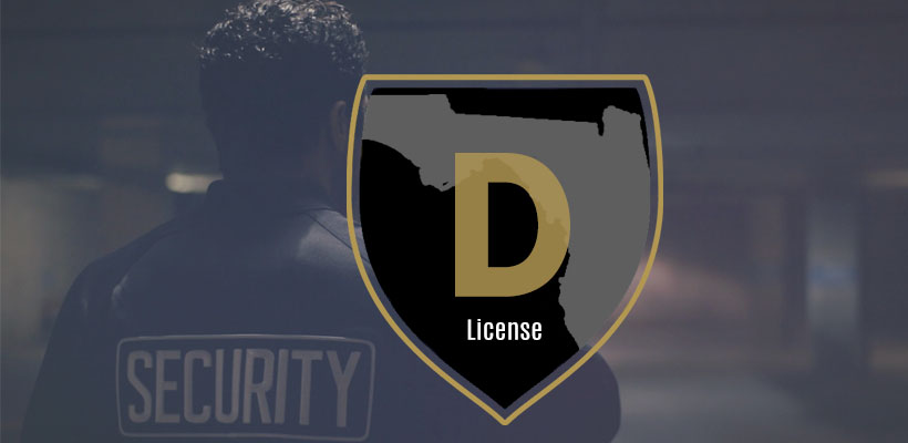 Class D Security License Florida
