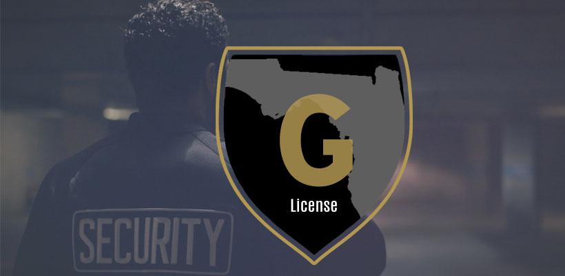 Class G Security License Florida